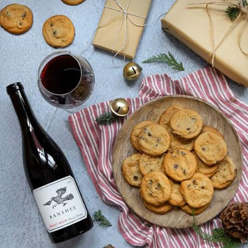 Banshee Wine and Cookies